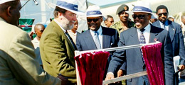 Orapa 2000 Expansion - Official Opening of No. 2 Plant - with the latest technology